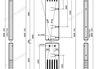 Precast Column drawings