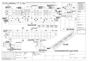 Precast Shop Drawing