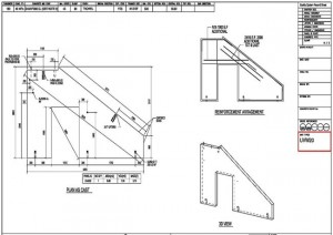 Precast panel shop drawings